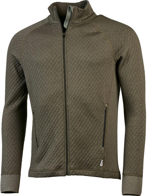 Lundhags M's Quilt Full Zip Forest Green
